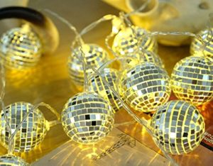 Mirror Ball String Lights