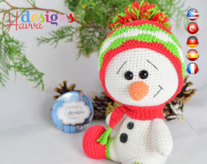 Patterns for snowman decorations