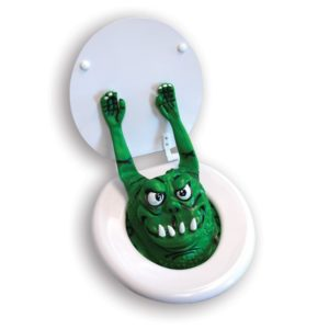 Scary Toilet Monster