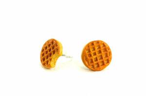 Waffle Earring