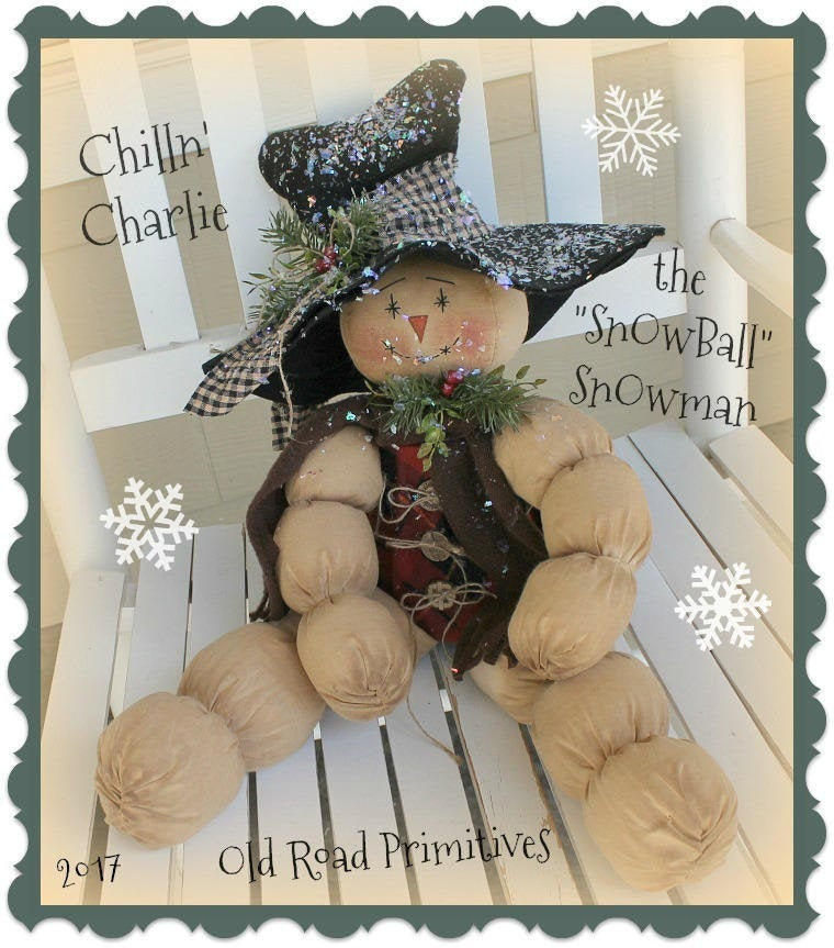 Snowman Christmas decorations patterns