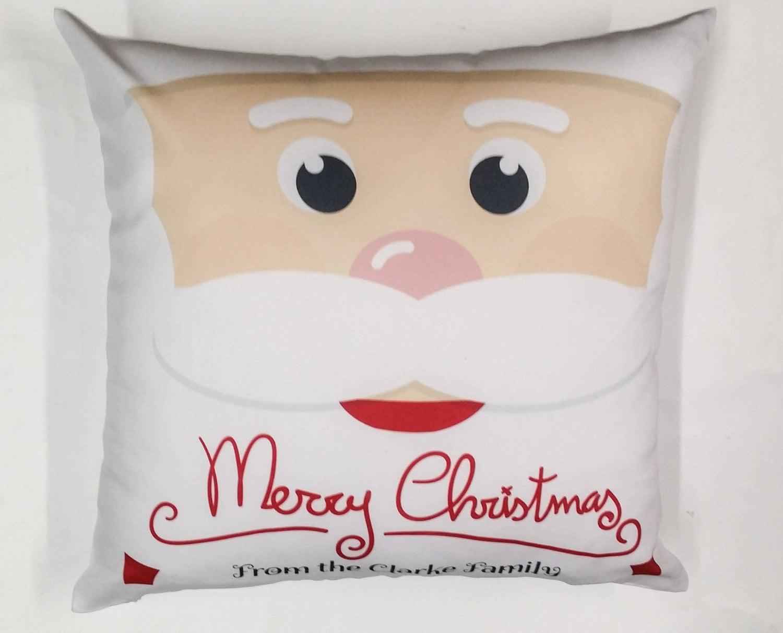 Christmas elf cushion cover