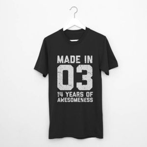14 years of awesomeness T-shirt