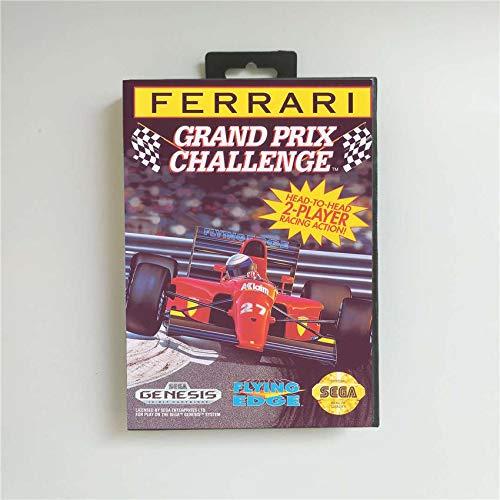 Game Card Ferrari Grand Prix Challenge
