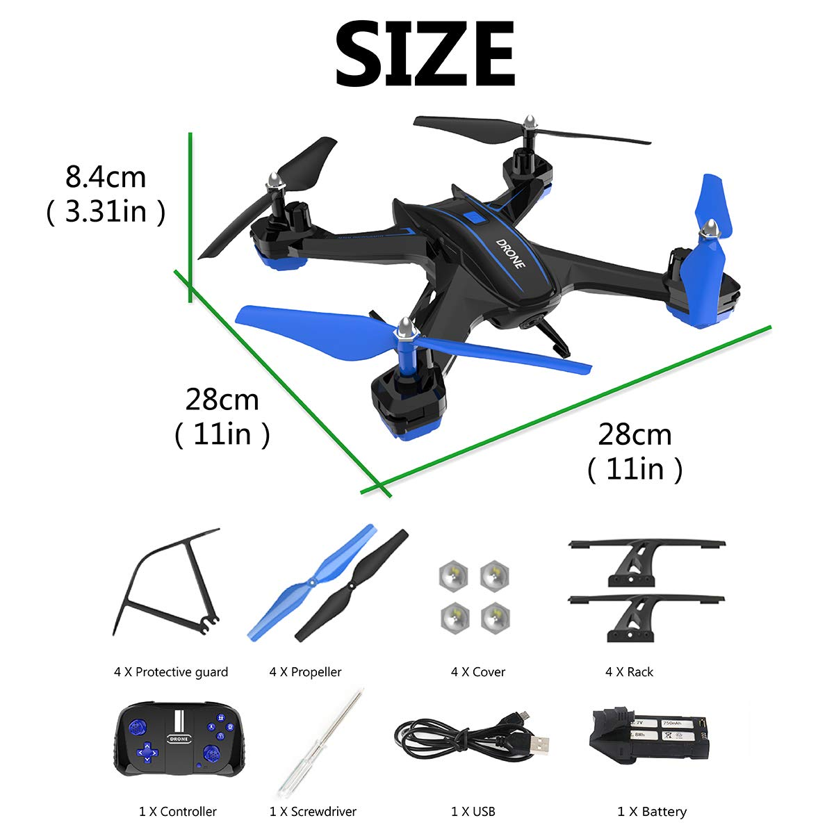 GILOBABY FPV RC Drone