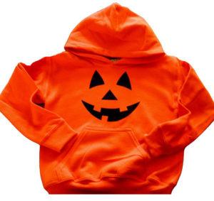 A Halloween hoodie