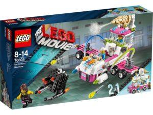 A Lego ice cream machine