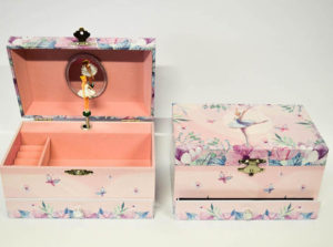 A musical jewelry box