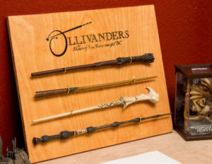 A wand straight out of Harry Potter