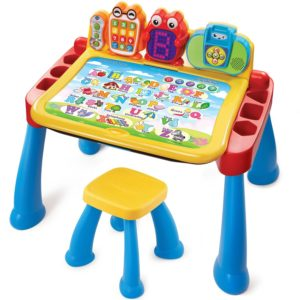 Audio and activity learning desk