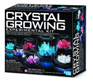 Crystal growth experiment kit