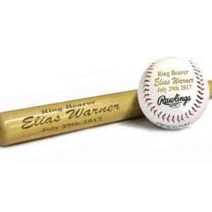 Customised baseball bat