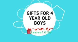 gifts for 4 year old boys