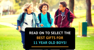 gifts for 11 year old boys