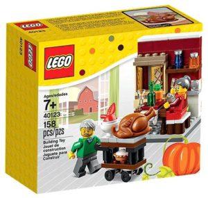 LEGO Christmas 2017 Thanksgiving Feast