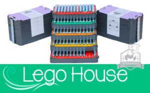 LEGO House Professional font Stamps