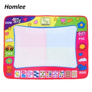 Let them doodle their creativity on a doodle mat