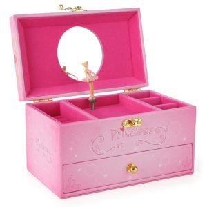 Musical jewellery box