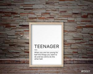 Officially a teen