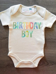 Or a cute onesie can be great gifts for 1 year old boys