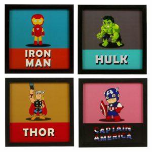 Smart superhero poster