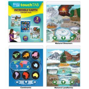 Touch tab encyclopedia