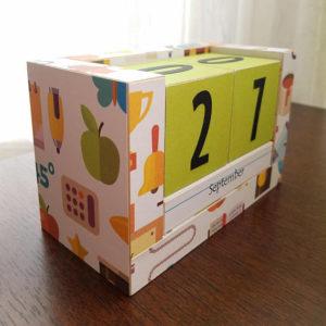 Wooden Box Calendars