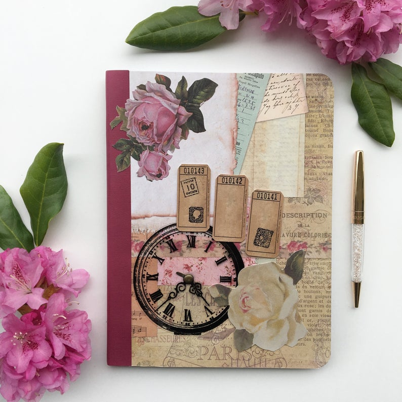 Cute shabby notebook