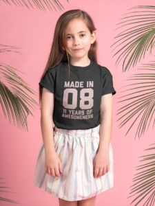 11 Year Old Birthday Girl Shirt,