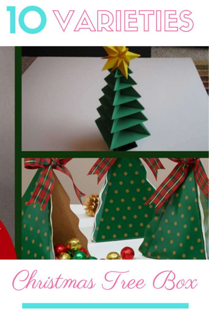 Christmas Tree Box in 10 Different Varieties