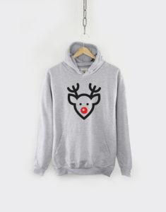 A Rudolph hoodie