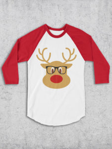 A nerdy Rudolph for the nerd heart