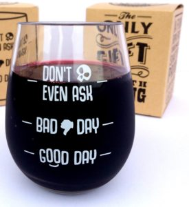 Cool quote wine glasses