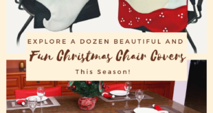Explore a Dozen of Beautiful and Fun Christmas Chair Covers This Season