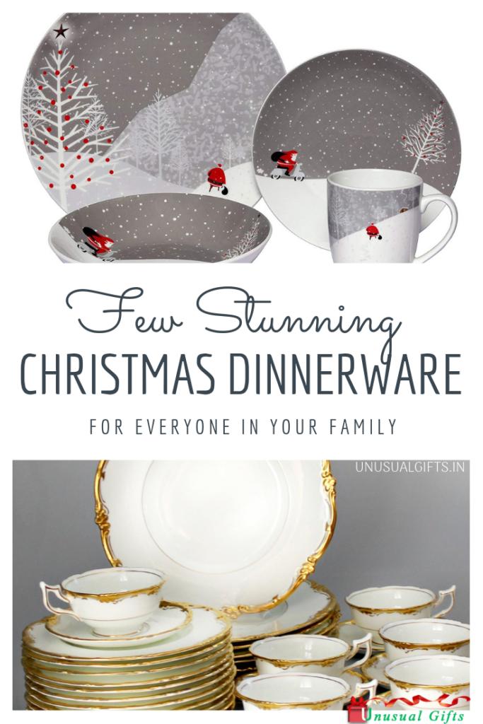Few Stunning Christmas Dinnerware