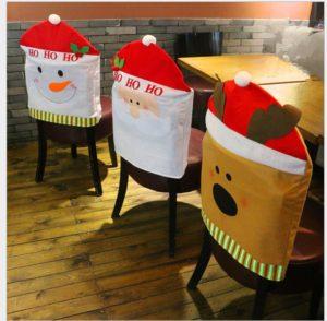 Ho! Ho! Ho! Ho! Santa Chair cover