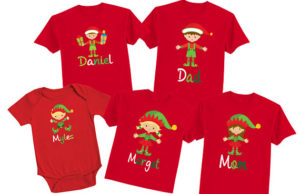 How about matching family t-shirts