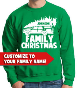 Look like a family with customised family sweatshirts