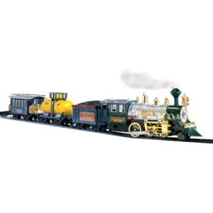 Mesmerise them with the lights and sounds train set