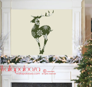 Reindeer games on your walls