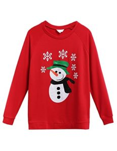 Snowman sweatshirt for that cute friend