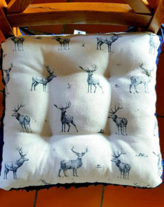 Stag seat cushions