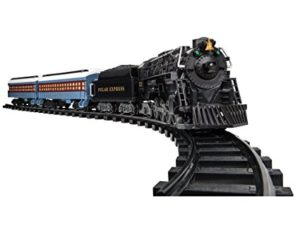 Tell them the story of Polar express with the Lionel train set