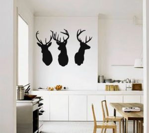Reindeer games on your walls!