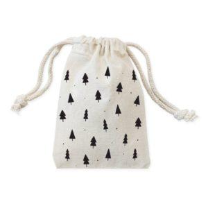 Handmade Christmas tree gift bag
