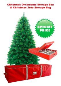 Xmas tree storage box bag