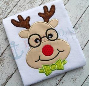 A nerdy Rudolph t shirt