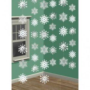 Christmas Snowflake Foil Decorations