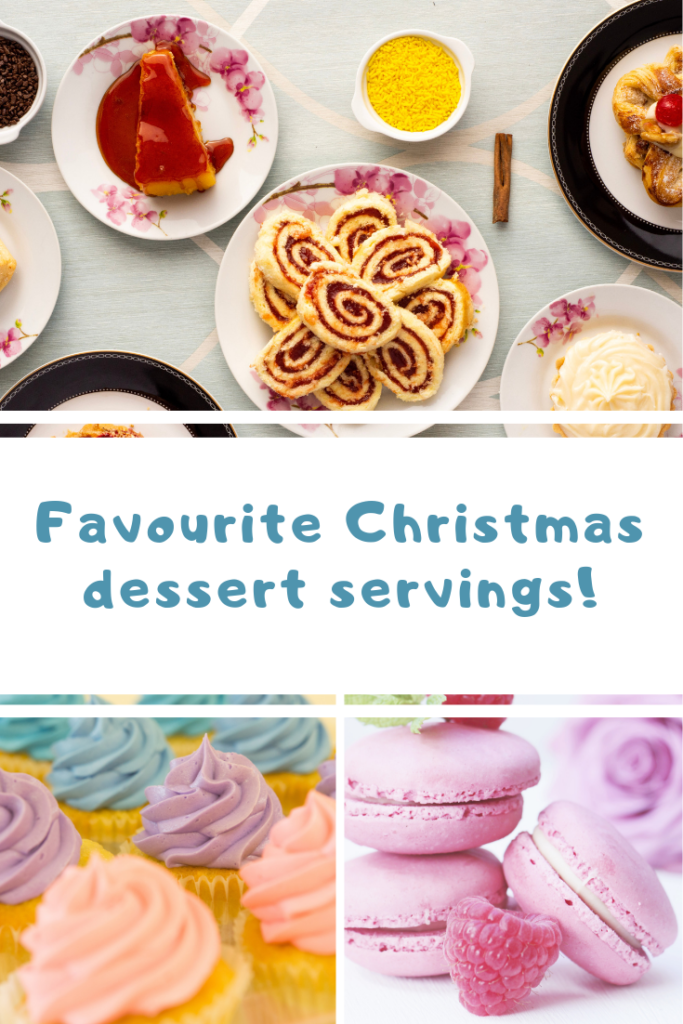 Favourite Christmas dessert servings
