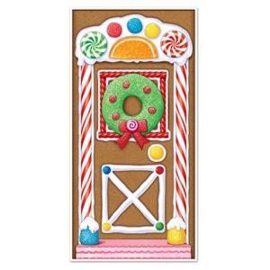 Gingerbread House Door Decal